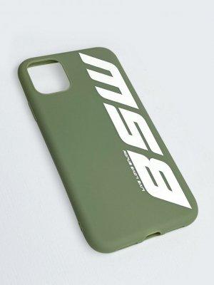 Чехол силиконовый для телефона BSW L.L.E. Black Star Wear. Цвет: полынь