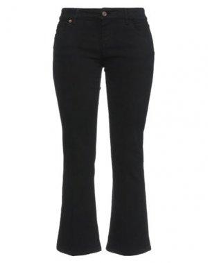 Повседневные брюки AVANTGAR DENIM by EUROPEAN CULTURE. Цвет: черный