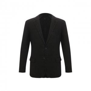 Льняной пиджак 120% Lino. Цвет: чёрный
