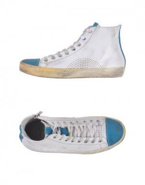Высокие кеды и кроссовки ALLUMINIO. Цвет: белый