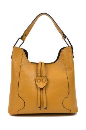 Handbag CARLA FERRERI. Цвет: yellow