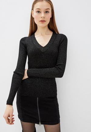 Пуловер Lusio. Цвет: черный