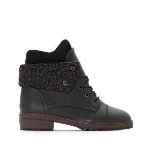 Ботинки на шнуровке Bring COOLWAY. Цвет: черный