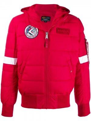 Пуховик NASA Alpha Industries. Цвет: красный