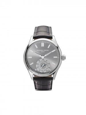 Наручные часы Horological Smartwatch Gents Classics 42 мм Frédérique Constant. Цвет: light grey color dial with sunray decoration