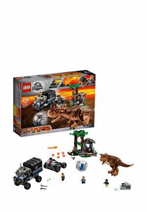 Конструктор Jurassic World LEGO Побег в гиросфере от карнотавра 75929. Цвет: разноцветный