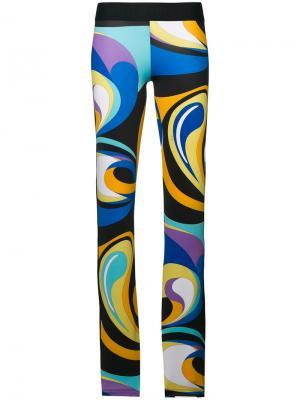 Пляжные брюки Emilio Pucci. Цвет: разноцветный