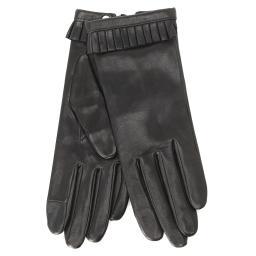 Перчатки FROUFROU/S черный AGNELLE