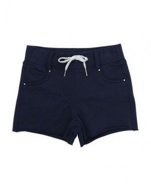 Повседневные шорты ELSY. Цвет: темно-синий