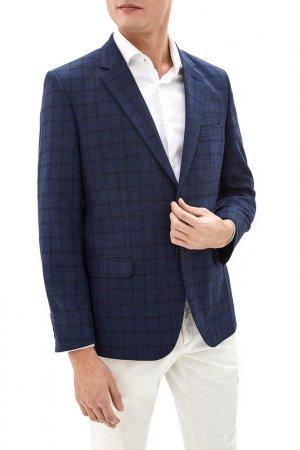 Пиджак La Biali. Цвет: темно-синий
