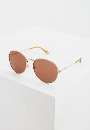 Очки солнцезащитные Givenchy GV 7089/S 06J. Цвет: золотой