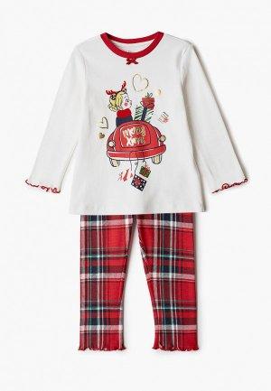 Пижама Chicco. Цвет: разноцветный