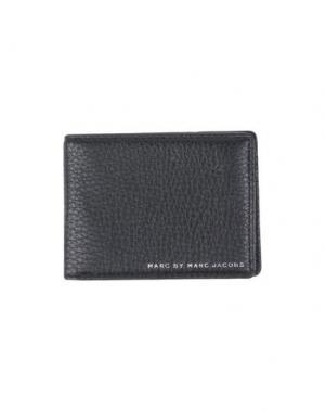 Бумажник MARC BY JACOBS. Цвет: черный