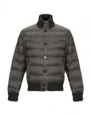 Куртка HENRY COTTON'S. Цвет: зеленый-милитари