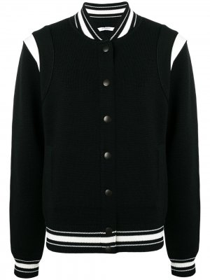 Куртка-бомбер с логотипом Givenchy. Цвет: черный