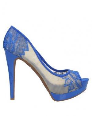 Туфли JESSICA SIMPSON. Цвет: ярко-синий