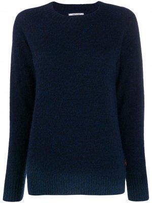 Джемпер с длинными рукавами Woolrich. Цвет: синий
