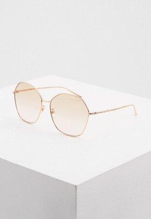 Очки солнцезащитные Givenchy GV 7171/G/S DDB. Цвет: золотой