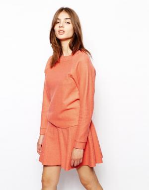 Шерстяной свитер BZR. Цвет: оранжевый
