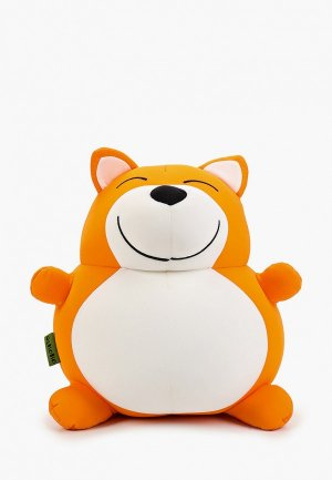 Подушка декоративная Gekoko Лиса. Цвет: оранжевый