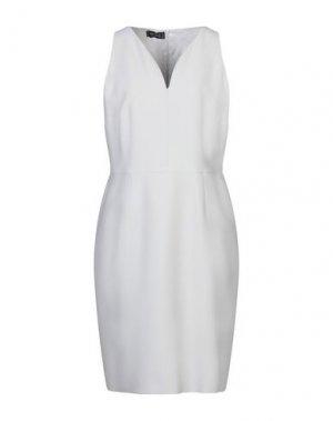 Платье до колена BOTONDI MILANO. Цвет: светло-серый