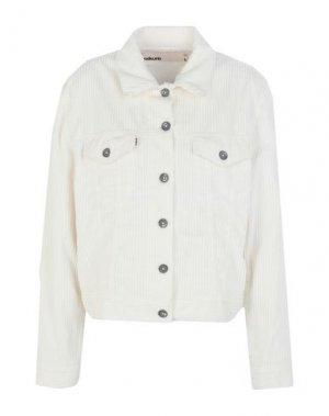 Куртка HAIKURE. Цвет: белый