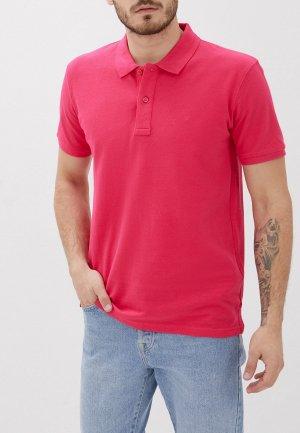 Поло Celio. Цвет: розовый