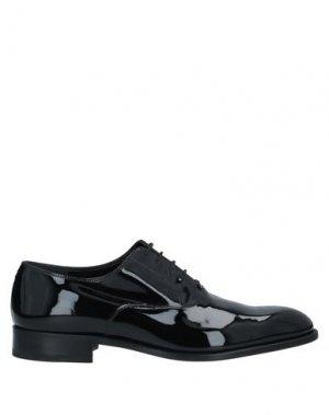 Обувь на шнурках FRATELLI ROSSETTI. Цвет: черный