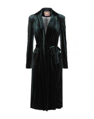 Легкое пальто BABYLON. Цвет: темно-зеленый