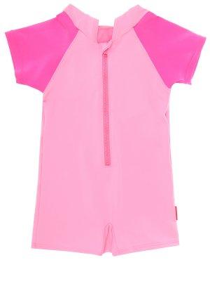 Детский купальник MIKI HOUSE. Цвет: розовый