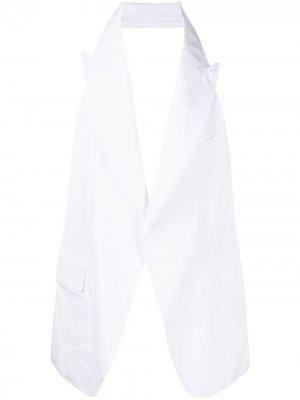 Жилет без спинки Comme Des Garçons Shirt. Цвет: черный