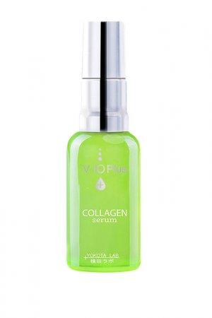 Сыворотка Collagen Serum30мл V10 Plus. Цвет: зеленый