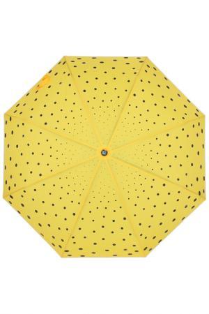 Зонт-автомат Flioraj. Цвет: желтый