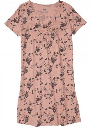 Сорочка ночная bonprix. Цвет: розовый