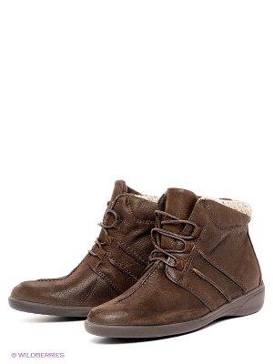Ботинки Comodo. Цвет: темно-коричневый