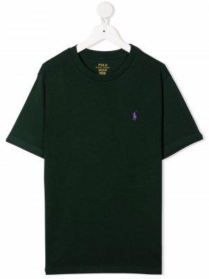 Boys classic pony t-shirt Ralph Lauren Kids. Цвет: зеленый