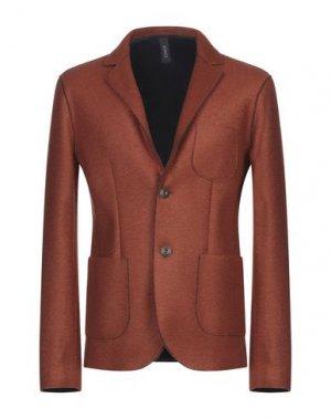 Пиджак ERO. Цвет: ржаво-коричневый