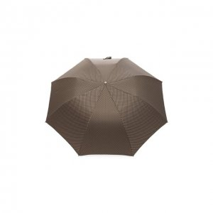 Складной зонт Pasotti Ombrelli. Цвет: коричневый