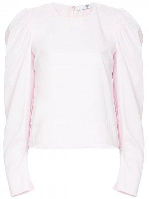 Блузка с объемными рукавами CAMILLA AND MARC. Цвет: розовый