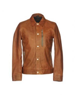 Куртка JUNK DE LUXE. Цвет: коричневый