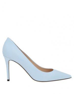Туфли DEIMILLE. Цвет: небесно-голубой