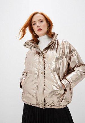 Куртка утепленная Ba&Sh. Цвет: золотой