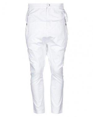 Повседневные брюки BAD SPIRIT. Цвет: белый