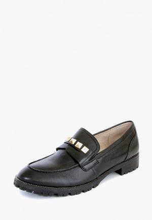 Лоферы M.Shoes. Цвет: черный