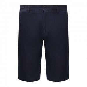 Джинсовые шорты Paul&Shark. Цвет: синий