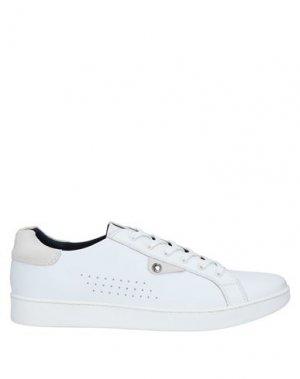 Кеды и кроссовки BASE London. Цвет: белый