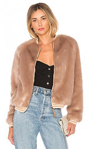 Куртка MOTHER. Цвет: румянец