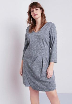 Платье Violeta by Mango - NEON. Цвет: серый