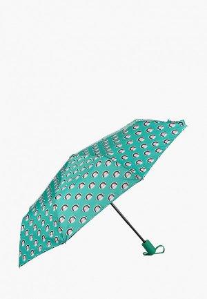Зонт складной Goroshek. Цвет: зеленый