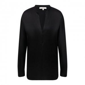 Шелковая блузка Vince. Цвет: чёрный